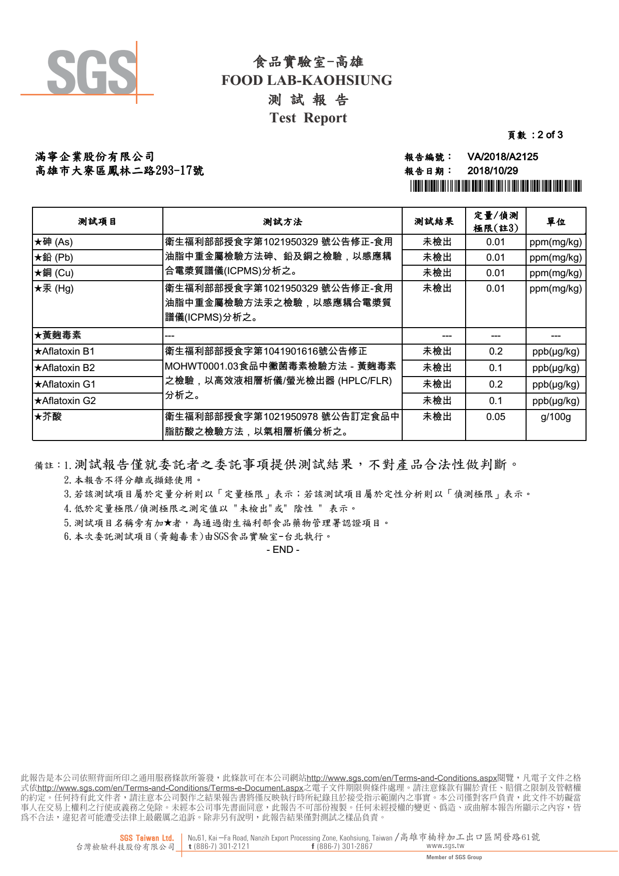 韓國千年味人初榨冷壓南瓜籽油,經SGS檢驗合格