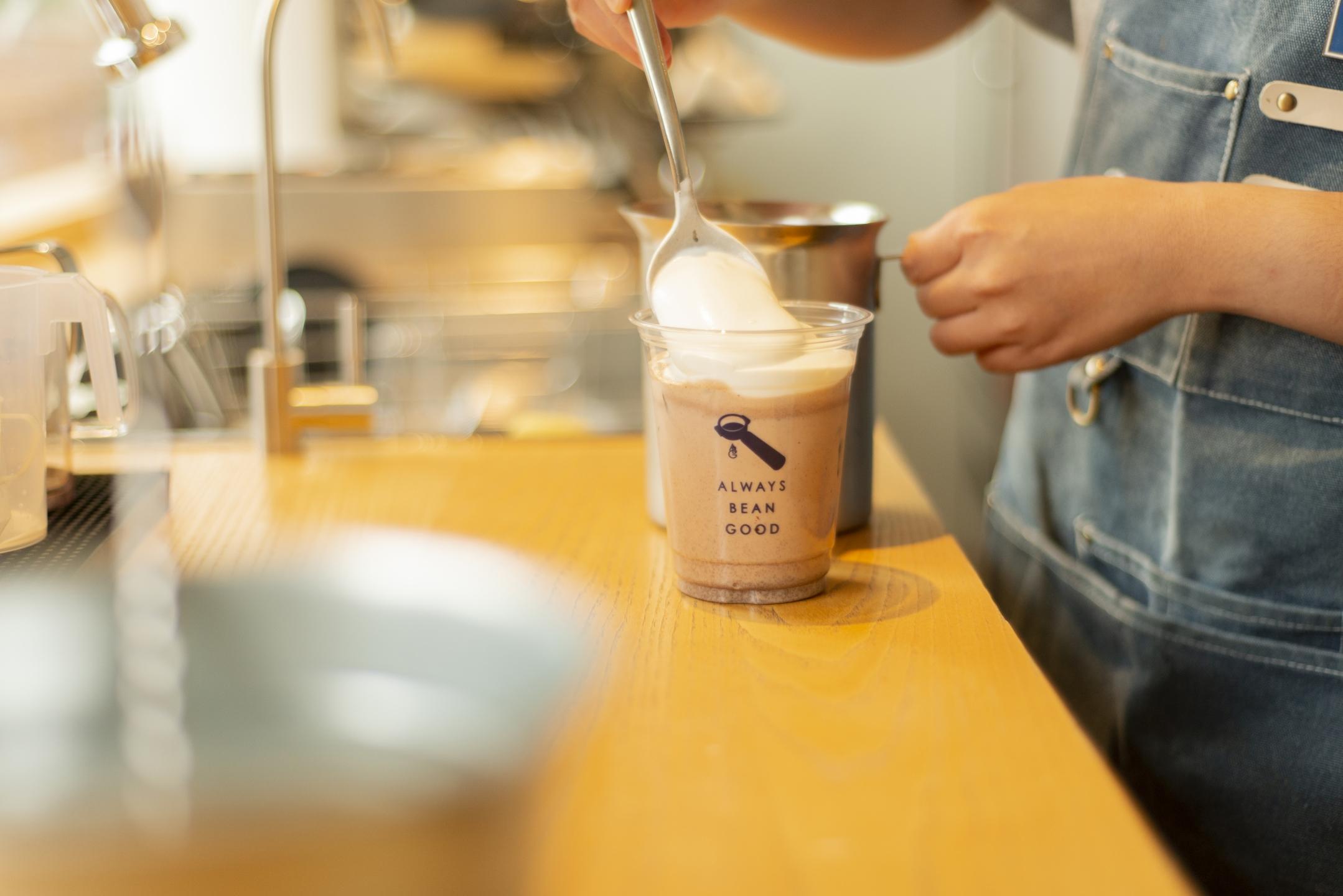 ABG Coffee,Coffee,咖啡廳,咖啡,台北咖啡廳,ALWAYS BEAN GOOD,可可牛奶,Chocolate Milk